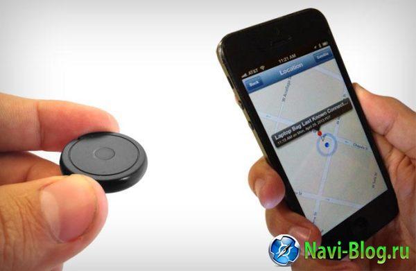 StickR TrackR - небольшое устройство, оповещающее о месте нахождения предмета.