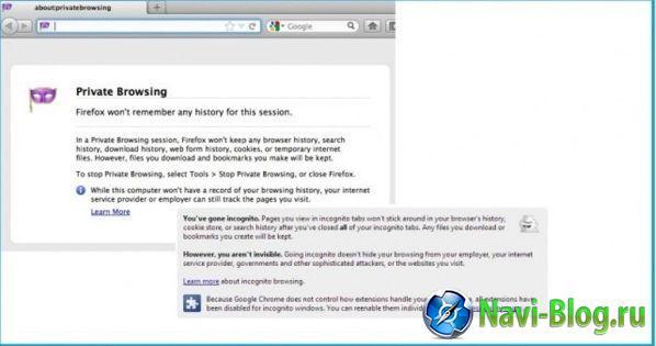Почему приватный просмотр в браузерах не так уж приватен