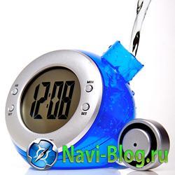 Bedol- часы, которые работают на воде.