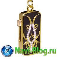 Флешка «ИЗЯЩНАЯ ПОДВЕСКА-БРЕЛОК»