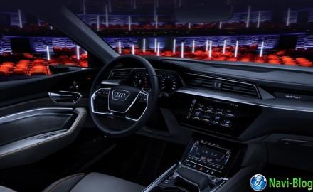 Компания Audi представила в Лас-Вегасе виртуальный театр в машине