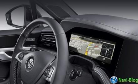 Компания Bosch раскрыла детали своих изогнутых экранов для VW